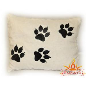 Подушка «Волчий след»