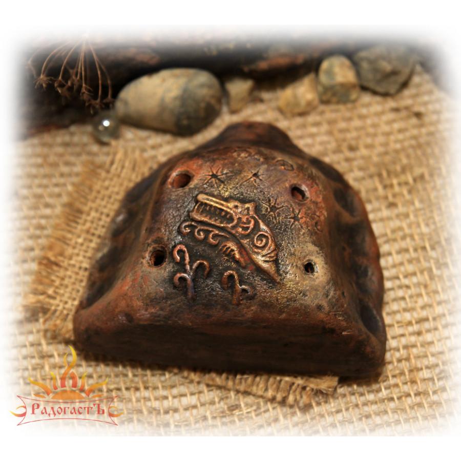 Глиняная окарина «Волки»