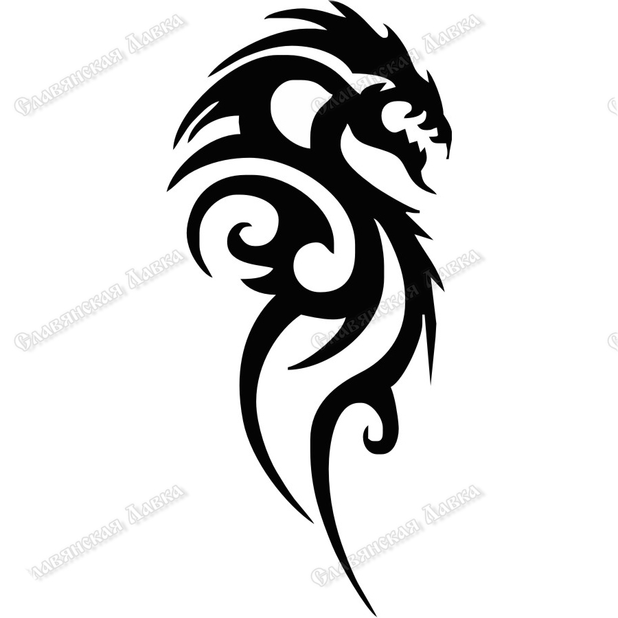 Наклейка «Змей»
