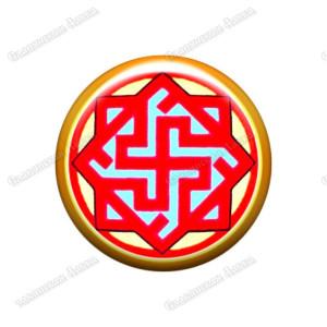 Славянская наклейка «Валькирия»