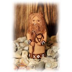 Глиняная фигурка Велеса