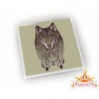 Магнит акриловый «Волк - Защитник Снов»