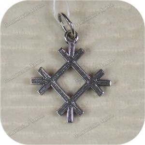Кулон из серебра женский «Целебник»