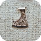 Серебряный кулон «Топор Перуна»