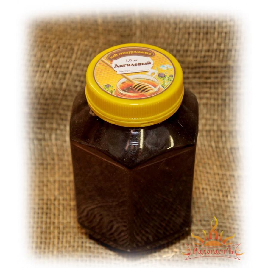 Мед «Дягилевый» (фасовка от 0,5 до 1,5 кг)