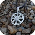 Кулон из серебра двусторонний «Коловрат»