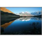 Озеро Равновесия с отражением Белухи