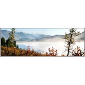 Туманное утро над Язевым озером