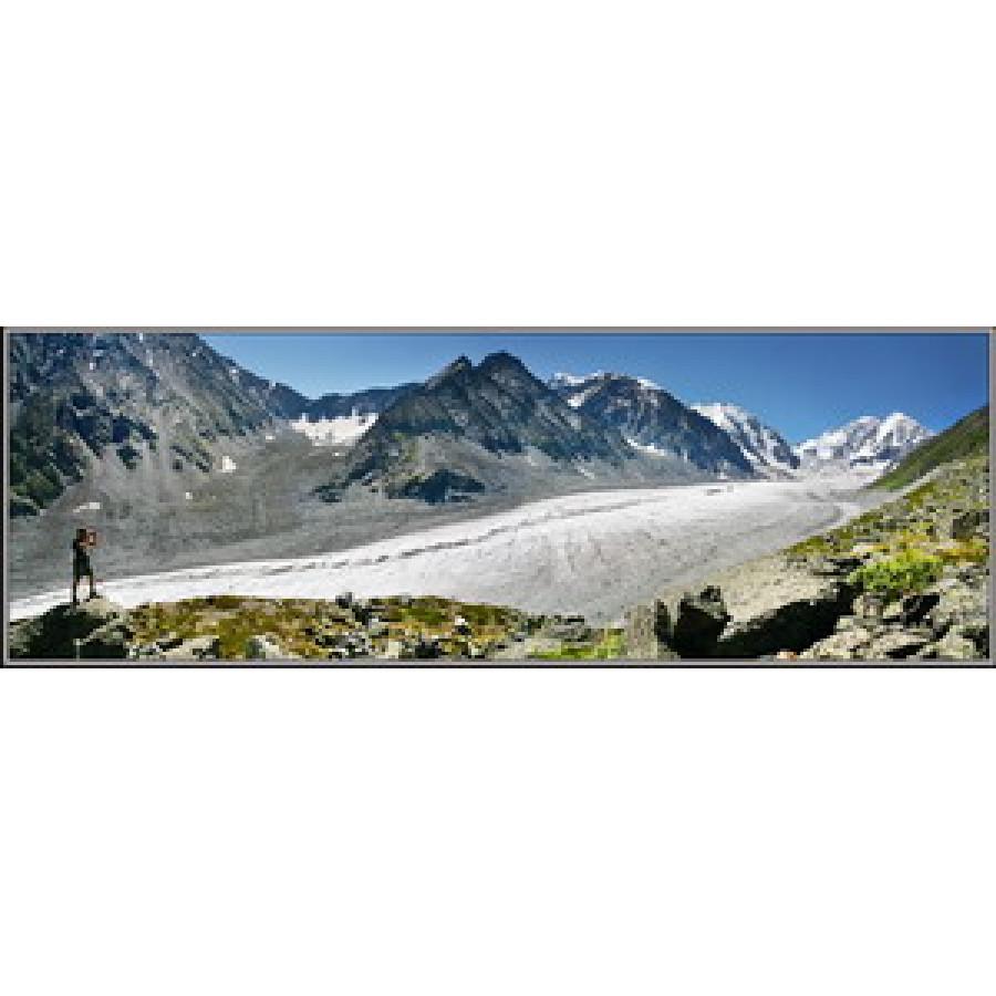 Ледник Менсу. Белуха. Алтай.