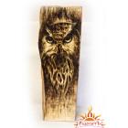 Настольная картина на дереве «Сова»