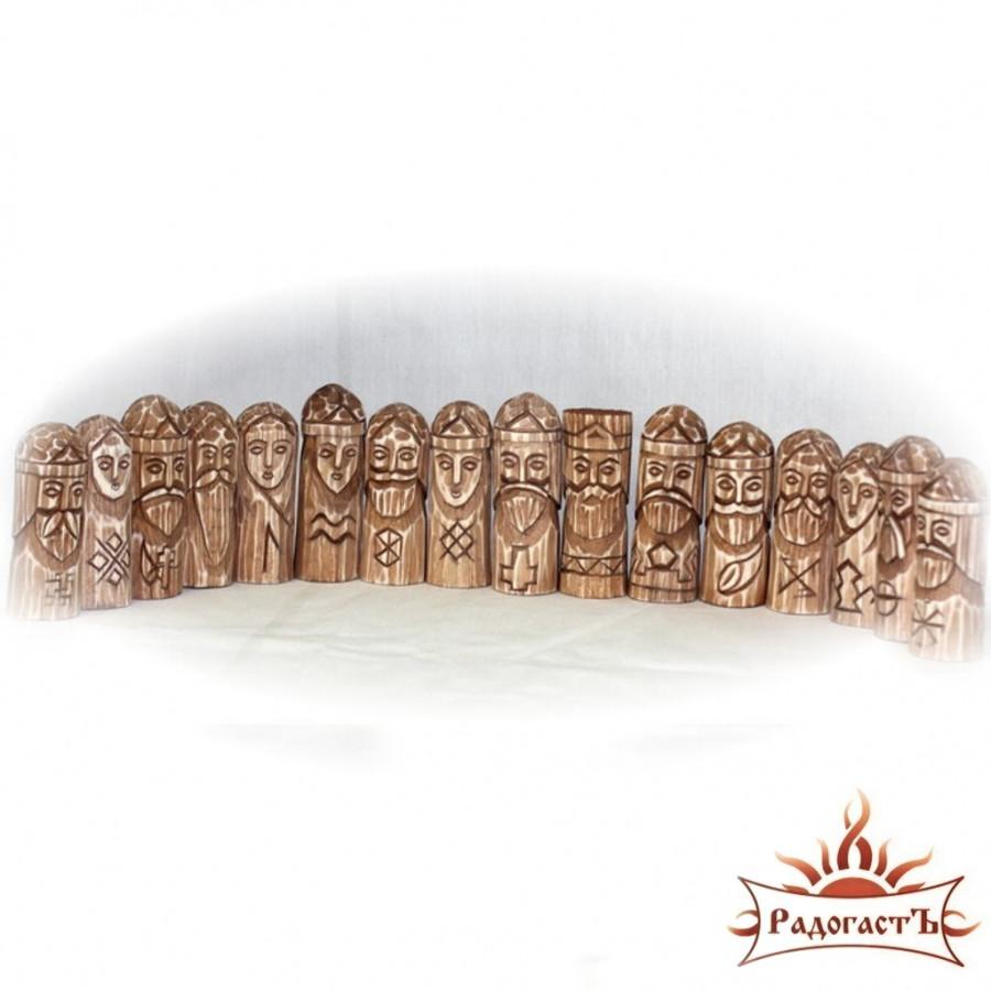 Малый пантеон Славянских Богов из 16 кумиров