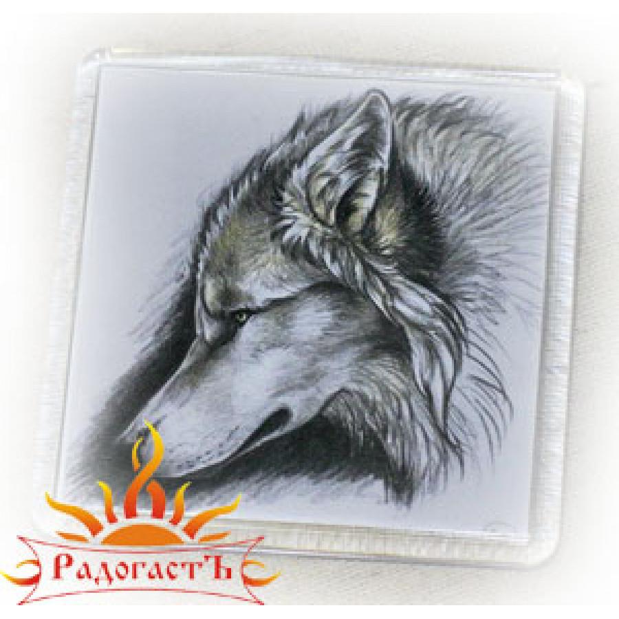 Магнит «Волк 2»