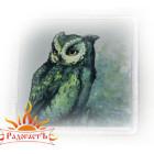 Магнит «Зелёная сова»