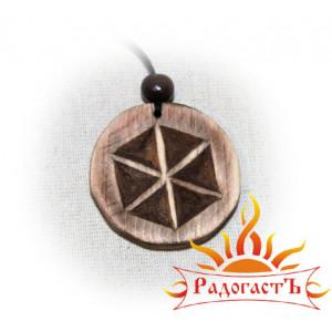 Символ Перуна (кедр)