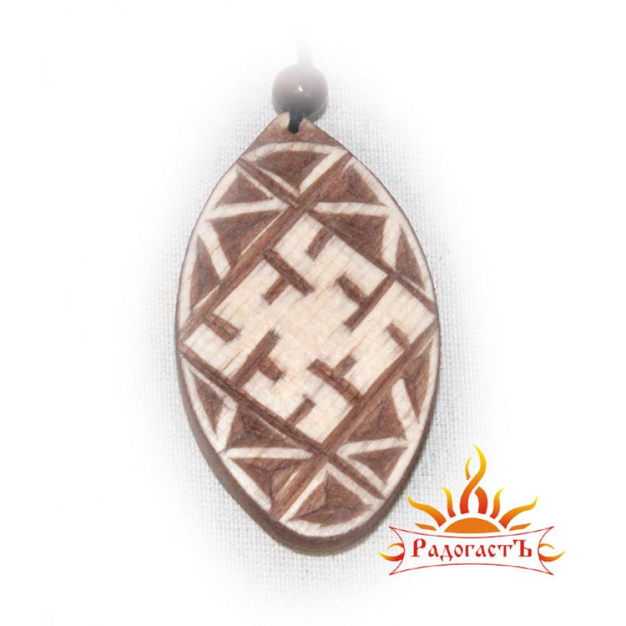 Подвеска - оберег «Символ папоротника»