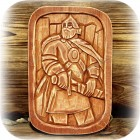 Панно «Витязь»