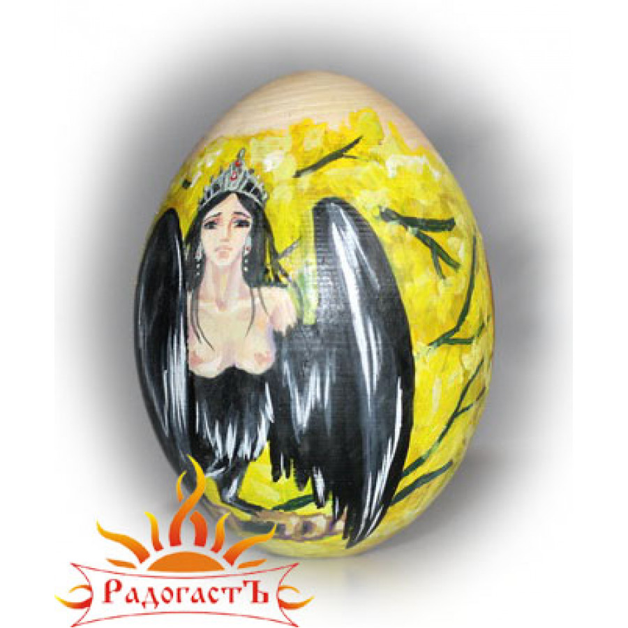 Яйцо-оберег «Птица Сирин»