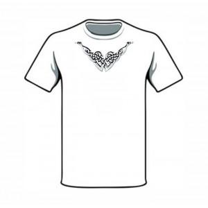 Славянская футболка с вязью
