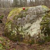 Щеглец камень