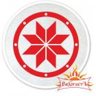 Нашивка славянская «Крест Сварога»