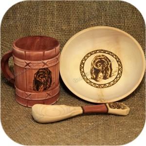 Набор посуды «Медвежья утварь»