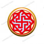 Скандинавская наклейка «Валькирия»