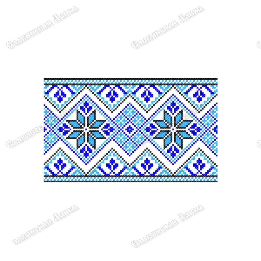 Славянская наклейка «Орнамент с Алатырем»