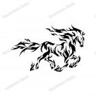 Наклейка «Конь»