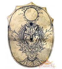 Славянский бубен «Волк-Первопредок»