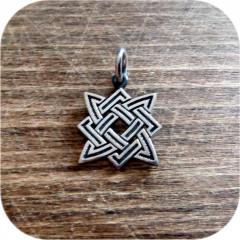 Серебряный кулон «Квадрат Сварога» малый