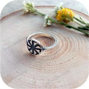 Серебряное кольцо «Коловрат»