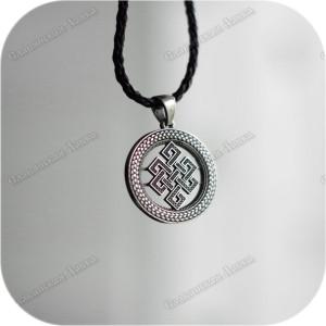 Кулон из серебра «Науз на долголетие»