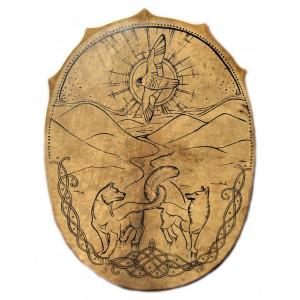 Славянский бубен «Тройной Тотем»