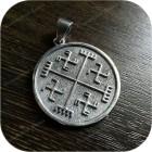 Кулон из серебра «Световит»