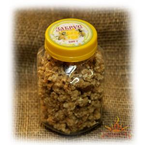 Забрус - восковые крышечки с медом