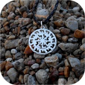 Кулон из серебра «Ярилов Светоч»