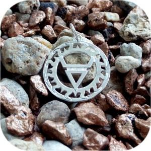 Кулон из серебра «Ярилов Велес»