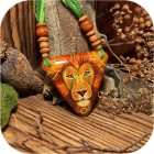 Авторская подвеска «Лев»