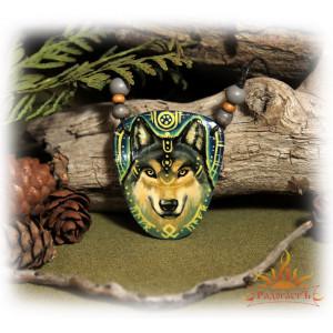 Авторская подвеска «Волк»