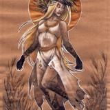 Полудница в славянской мифологии