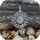 Кулон из серебра «Чертог Финиста»