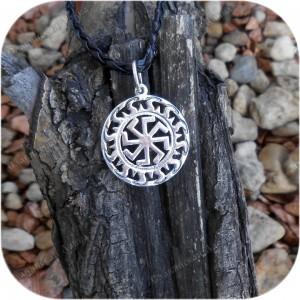 Кулон из серебра «Ярилов Колядник / Ярилов Ладинец»