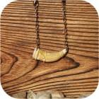 Подвеска «Рог Изобилия» с символом Велеса (кость)