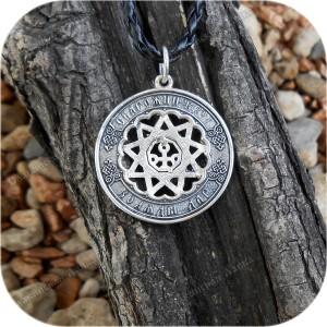 Кулон из серебра «Чертог Змеи»