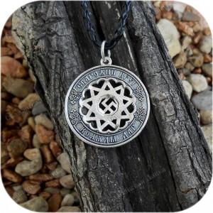 Кулон из серебра «Чертог Вепря»