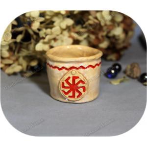 Горшочек обережный с символом «Ладинец»
