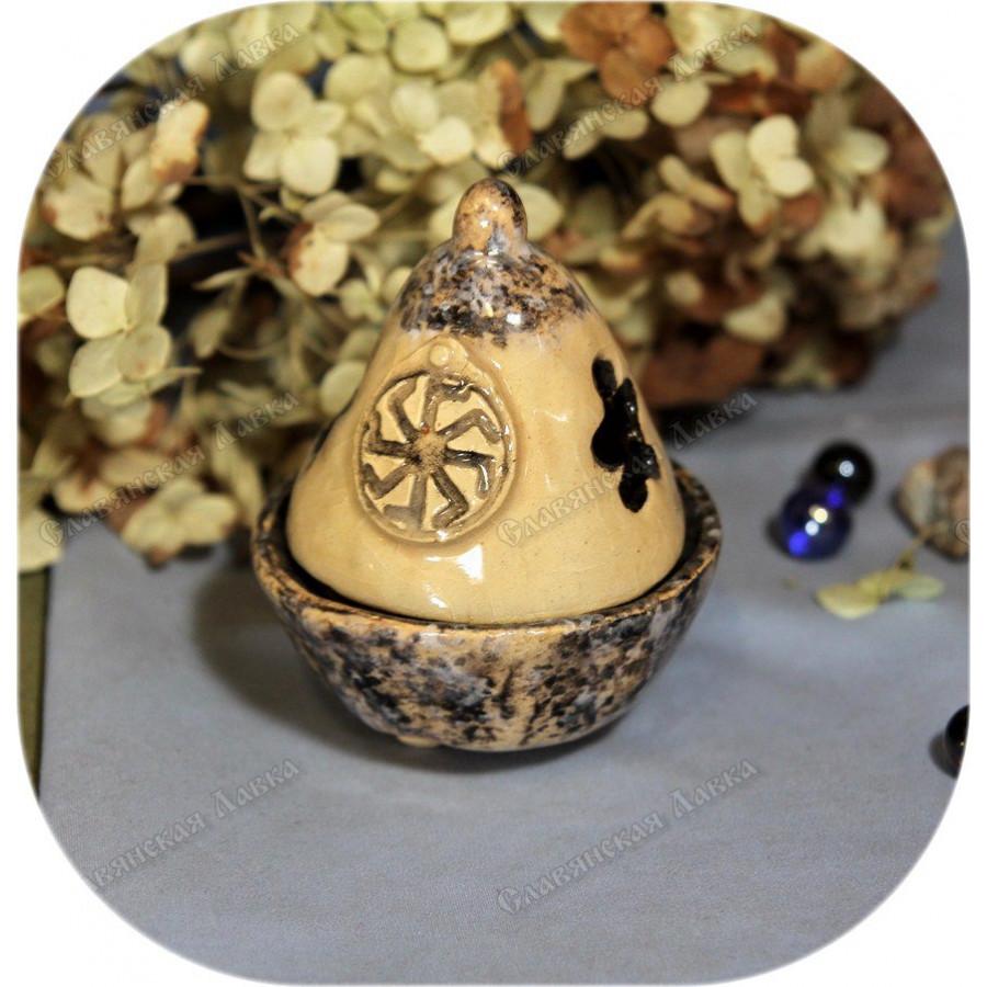 Аромакурильница с символом «Ладинец» (вариант 2)