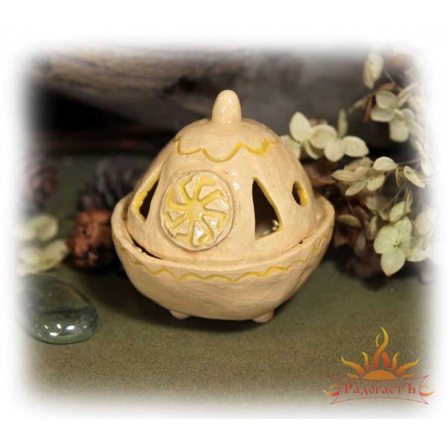 Аромакурильница с символом «Ладинец» (вариант 5)