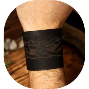 Кожаный браслет «Этно стиль»