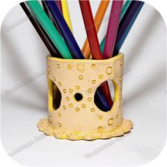 Карандашница керамическая